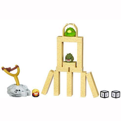 Star Wars Angry Birds Jenga Battle Game - Tatooine