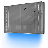 Ambient Audio Demist Bathroom Cabinet With Bluetooth, Shaver & Sensor K75Baud