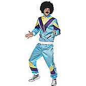 80's Shell Suit - Adult Costume Size: 38-40