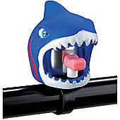Crazy Stuff Bicycle Bell, Blue Shark