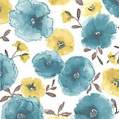 Superfresco Easy Poppy Wallpaper
