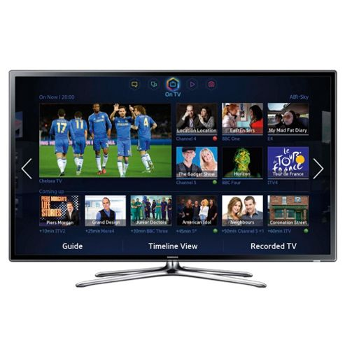 Samsung UE40F6320 40 Inch 3D Smart WiFi Built In Full HD 1080p LED TV With Freeview HD
