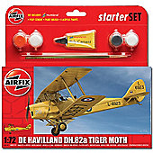 Airfix A55115 Tiger Moth Starter Set Small 1:72 Aircraft Model Kit