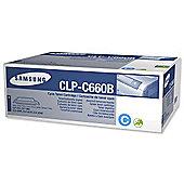 Samsung CLP-C660B toner cartridge - Cyan