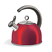 Morphy Richards - Accents 2.5 Litre Red Whistling Kettle