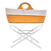 Moba Basket with Stand - Tangerine Orange