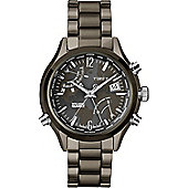 Timex Intelligent Quartz World Time Black Steel Chronograph Watch T2N946