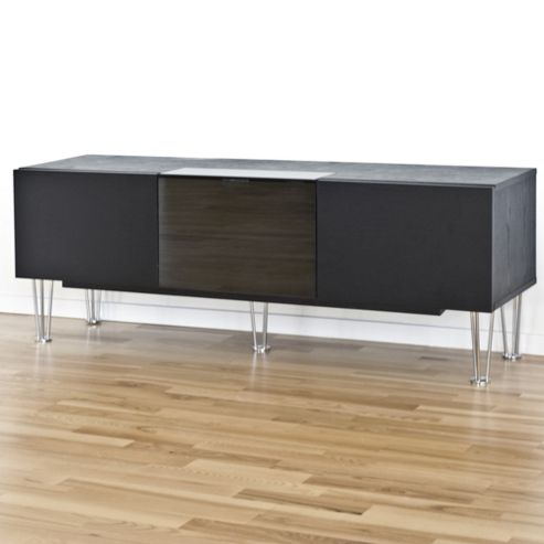 RGE Watt Multi-Media TV Storage and Display Unit - Foil Oak Structure