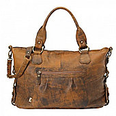 OiOi Tote Slouch Bag (Jungle Leather)