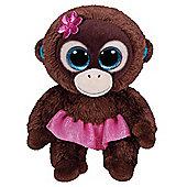 TY Beanie Boo Plush - Nadya the Monkey 15cm