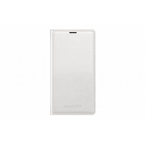 Samsung Original Flip Wallet for Galaxy S5 - White