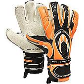 Ghotta Extreme Hybrid Roll/Neg Goalkeeper Gloves Size - Black