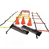 Precision Training 20 Piece Junior Speed Agility Kit With Carry Bag