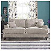 Kensington Fabric Large Sofa Light Grey