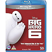 Big Hero 6 3D & 2D Blu-ray