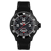 Ice-Watch Ice-Surf Mens Rubber Date Watch DI.BW.XL.R.12