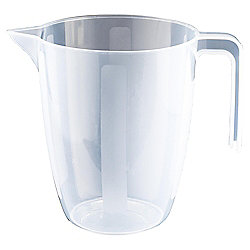 Tesco Basics 1L Plastic Measuring Jug