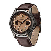 Police Lancer Mens Leather Date Watch 13453JSU-61