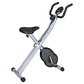 Folding X-Frame Magnetic Exercise Bike