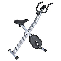 Essential Folding X-Frame Magnetic Exercise Bike