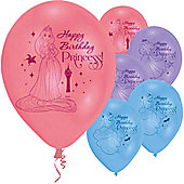 9' Disney Princess Happy Birthday (6pk)