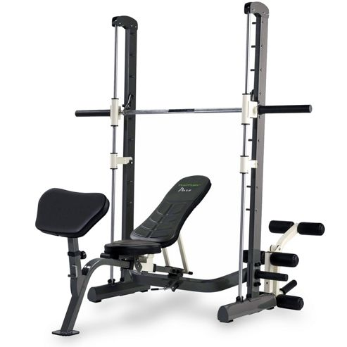 Buy Tunturi Pure Compact Smith Machine Weight Bench With Folding Design From Our Weight Benches
