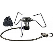 Yellowstone Hurricane Backpack Stove With Carry Bag