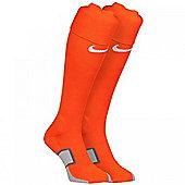 2014-15 Holland Nike Home Socks (Orange) - Orange