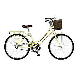 "18"" Viking Westwood Single-Speed Ladies' Bike, Ivory"