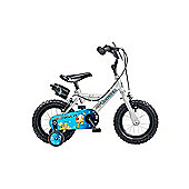 "Claud Butler CBR Space Ranger Kids' 12"" Wheel Silver Junior Bike"