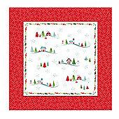 Pimpernel Christmas Wish Cotton Napkins, Set of 4