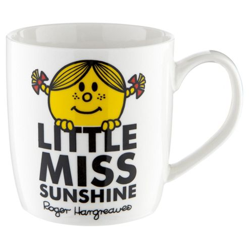 Mr Men Fine China Single Mug Little Miss Sunshine