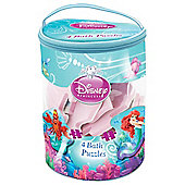 Disney Princess Ariel Bath Time Puzzles 4 in 1 set