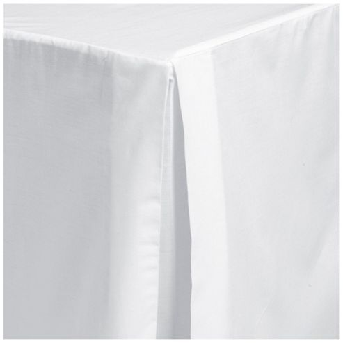 Tesco Valance Sheet White, Single