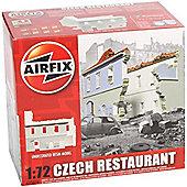 AIRFIX A75016 Czech Restaurant 1:72 Model Kit Buildings