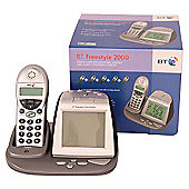 Cordless DECT phone and clock