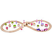 Bigjigs Rail BJT022 Fairy Figure of Eight Train Set