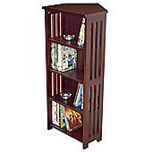 Techstyle Solid Wood Corner CD / DVD Storage Shelves