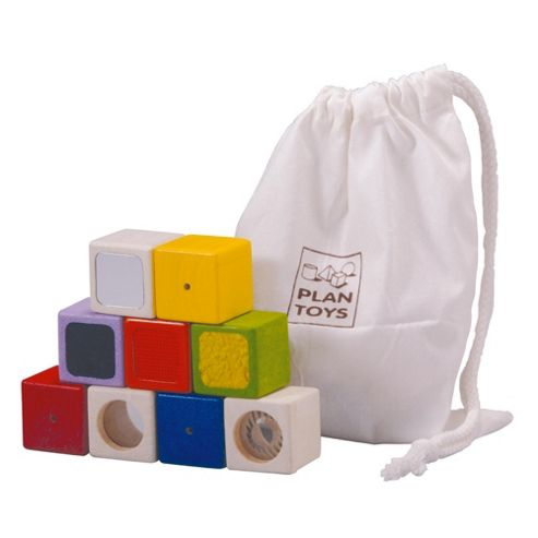 Plan Toys Activity Blocks Wooden Toy
