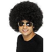 Economy Unisex Afro Wig (BLACK)