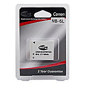 Canon NB-6L Camera Replacement Battery