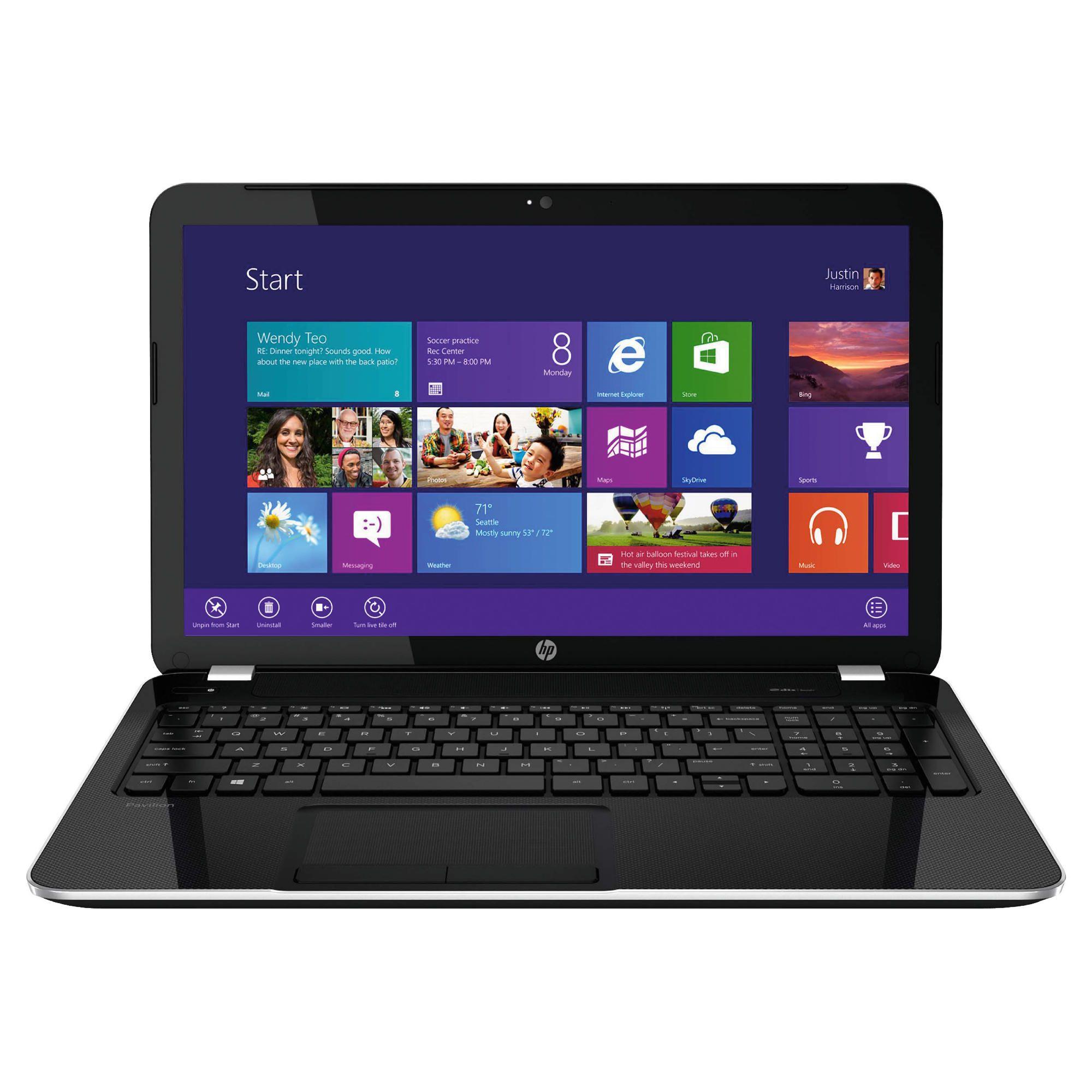 HP Pavilion 15-e000sa 15.6'' AMD Quad-Core A8 4GB/1TB Black Notebook
