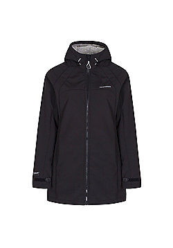 Craghoppers Ladies Eada Hooded Softshell Jacket - Black