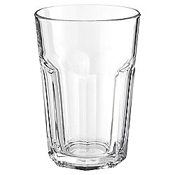 Tesco Basics Clear Soda Glass