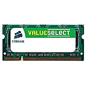 Corsair Microsystems Value Select SODIMM 1GB PC2700 333MHz DDR SDRAM Notebook Memory Module