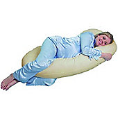 PreciousLittleOne 12ft Body & Baby Support Pillow (Cream)