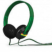 Uprock 2.0 Black/Rasta On Ear Headphones