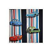 Texco Cars Stripes Bed Set in Dark Blue - Blue
