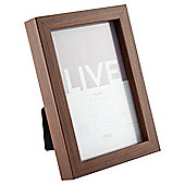 Tesco Basic Photo Frame Walnut Effect 4 x 6""