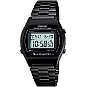 Casio Gents Digital Black Steel Bracelet Watch B640WB-1AEF